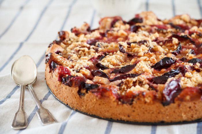 Herbstlicher Zwetschgenkuchen - eat this! Das vegane Rezepte-Blog