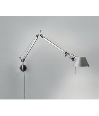 Tolomeo Parete & Mini Parete (Aluminium, Mini Parete). Lampa nad łóżka