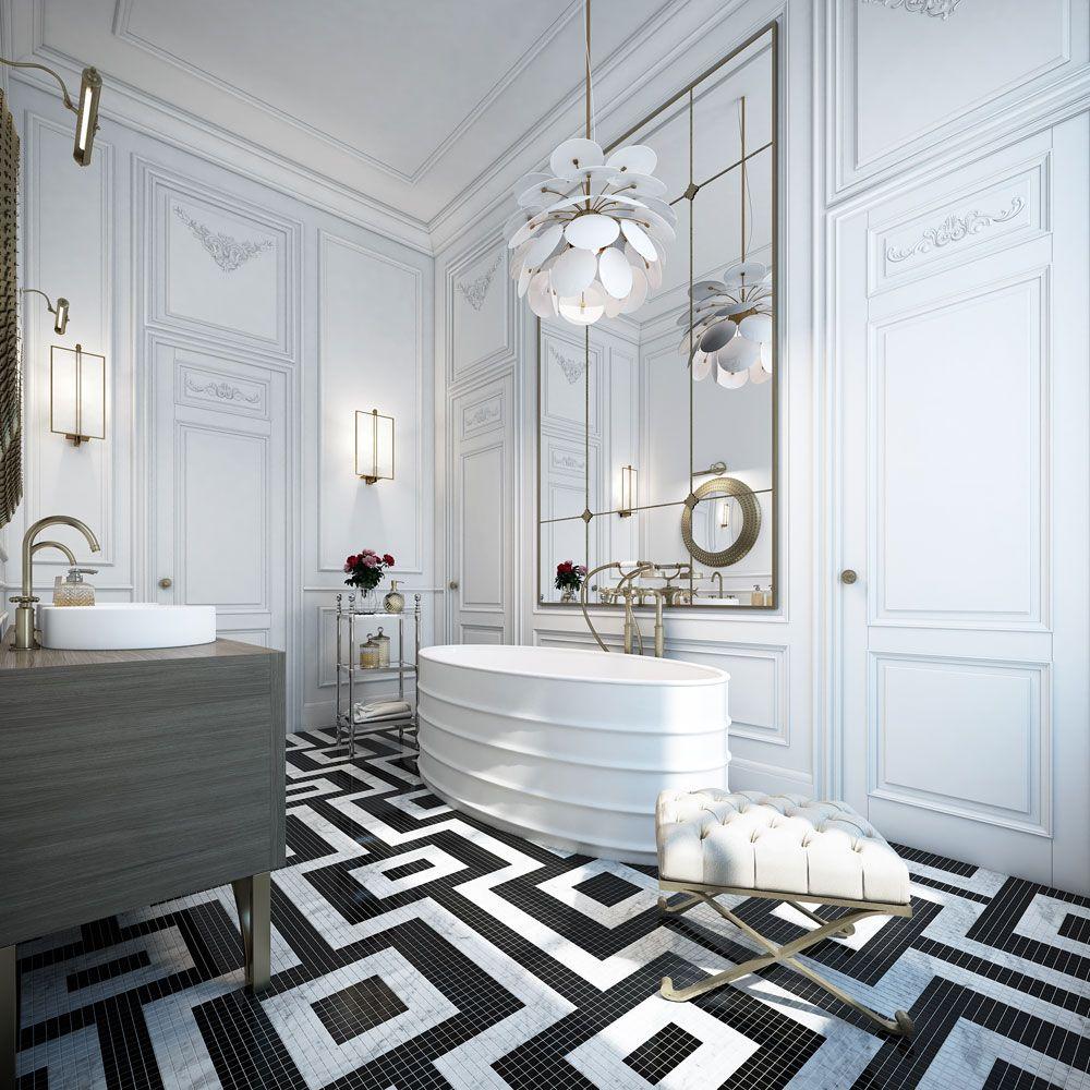 #Badezimmer Designs Badezimmer Design Ideen: 5 Erstaunliche Bodenfliesen  #2018 #Badezimmerzubehör #