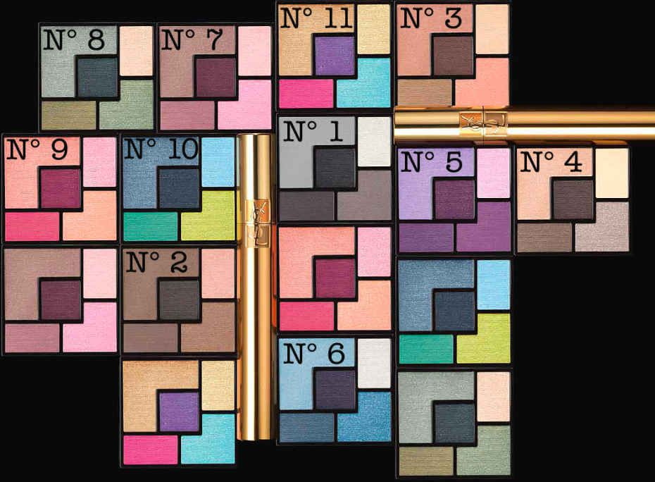 Ysl couture palette 2014 mondrian mania how to apply ysl couture palette 2014 mondrian mania how to apply beautygeeks ccuart Gallery