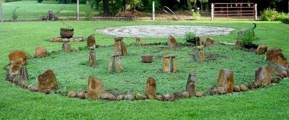 Julie's minature Stonehenge