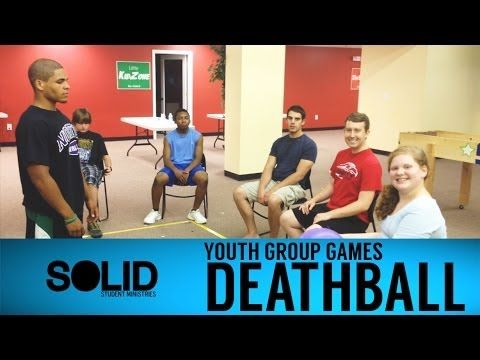 Introduction to Deathball While the origins of the game are a bit murky and not really fully clear, the concept has been around for centuries and has been played by youth groups all over the world. The game of Deathball can be played by any number of kids, but it is highly recommended that you play with at least 10 individuals. The game is extremely fast-paced and doesn't have a whole lot of very complicated base rules and it is highly recommended that your youth group adopt some unique rules in