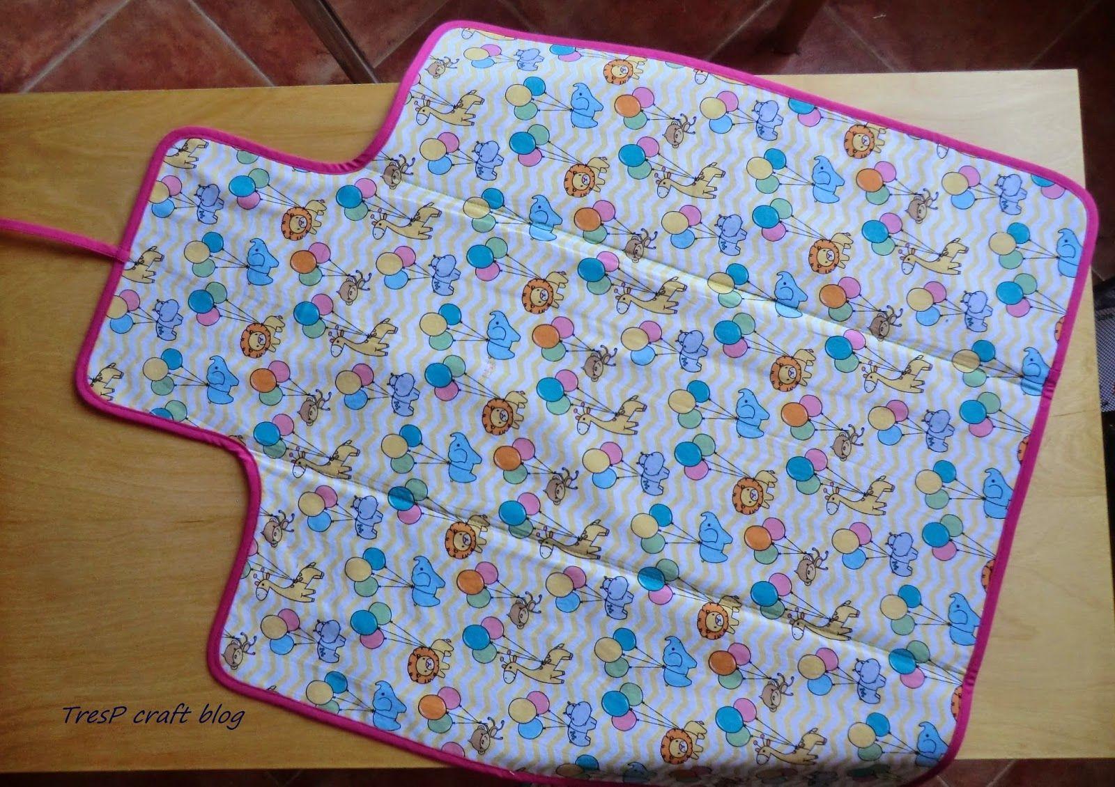 Tresp craft blog tutorial como hacer un cambiador - Cambiador bebe patchwork ...