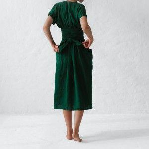 Seaside Tones Wrap Dress - Green - Biome Eco Stores -   17 dress Green vintage ideas