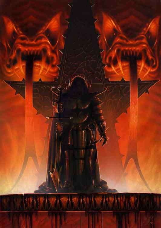 Morgoth by Jacek Kopalski