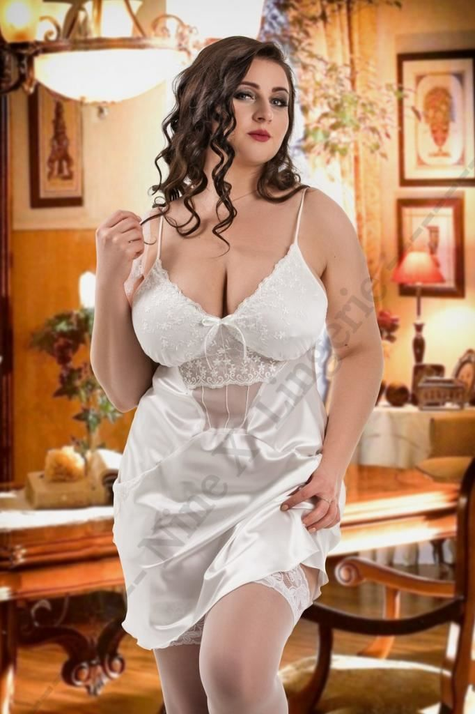 Nine X  Frida  Satin Babydoll Plus Size Lingerie S M L XL 2XL 3XL 4XL 5XL  6XL 89b385751