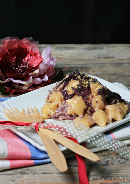 Letizia in Cucina: Stelline di patate al cavolo viola e noci | Primi ...