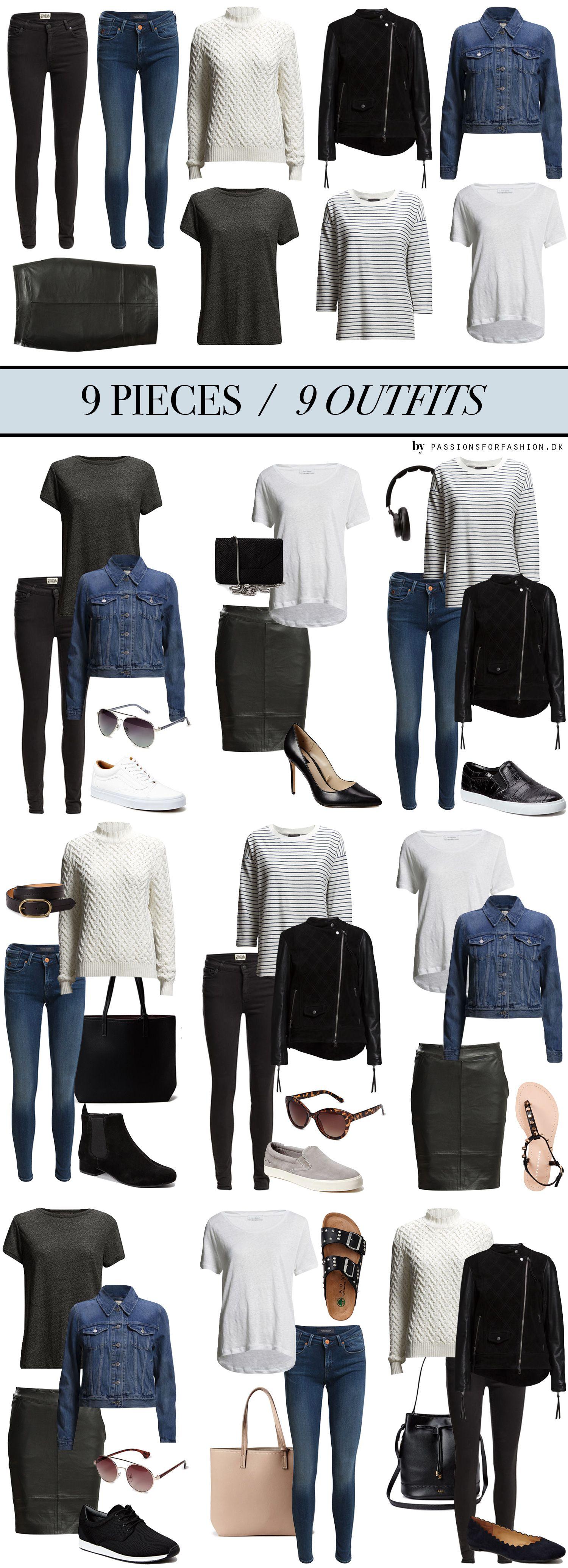 Combina moda con estas 9 piezas de ropa con passionsforfashion.dk #Outfit #Moda #CombinaTuRopa