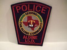 Aldine I S D Police Texas Police Patches Texas Police Police