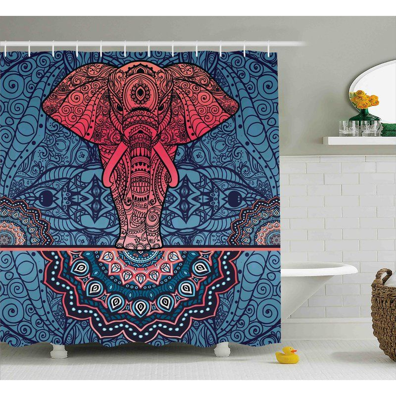 Shower Curtain Is Printed On 100 Woven Polyester Construction For Maximum Strength No Liner Needed Exclusive Design Made In Turkey