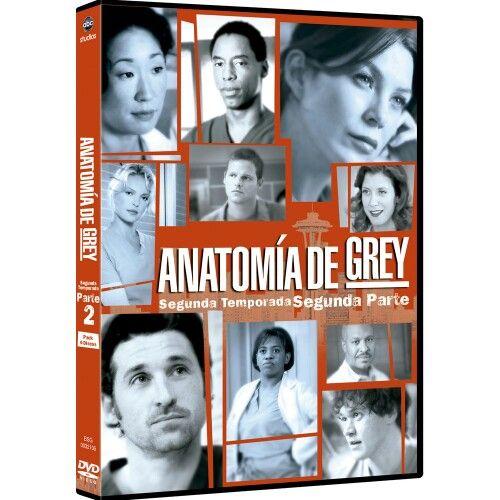 Anatomia de Grey Temporada 2 parte 2 | Mi colección de series en DVD ...