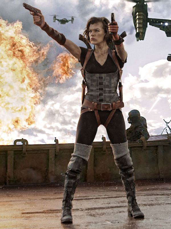 Movie Review Resident Evil Retribution 2012 Resident Evil