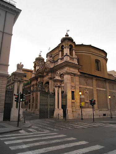 Roma San Pietro Via Di Porta Angelica Ingresso Citta Del