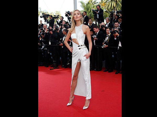 Cannes Karlie Kloss (Quelle: REUTERS/Eric Gaillard)
