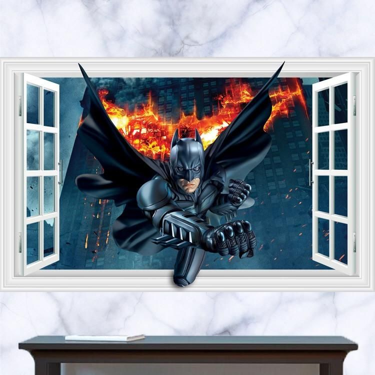 Best Batman Wall Decals With Images Batman Wall Decal Wall 400 x 300