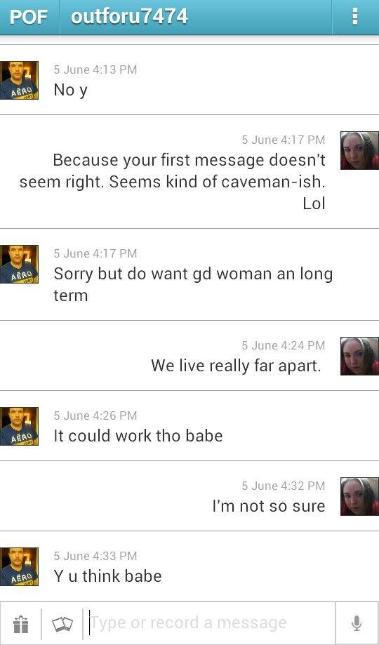 stalking online dating profil