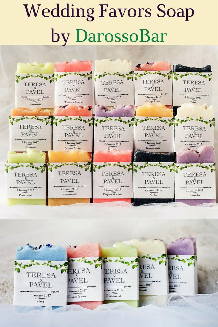 wedding soap, wedding favors soap, personalized git, wedding favor ...