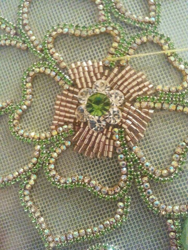 Pin By Nj H On Broderies Pinterest Embroidery Beaded