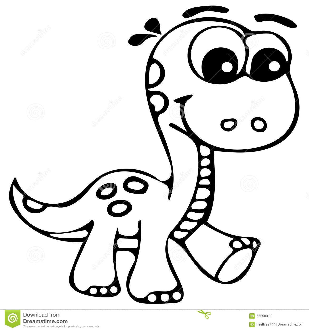 Easy cute dinosaur coloring pages in 2020 Dinosaur