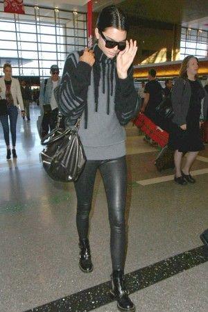 4de294c3e4549 Kendall Jenner wears Balenciaga Spring 2011 Rtw Cut Out Boots ...