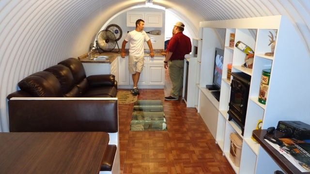 $85,000 Underground Survival Shelter Has TV, Kitchen, Jacuzzi