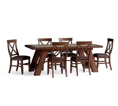 Pottery Barn Poker Table Potterybarn Reclaimed Wood