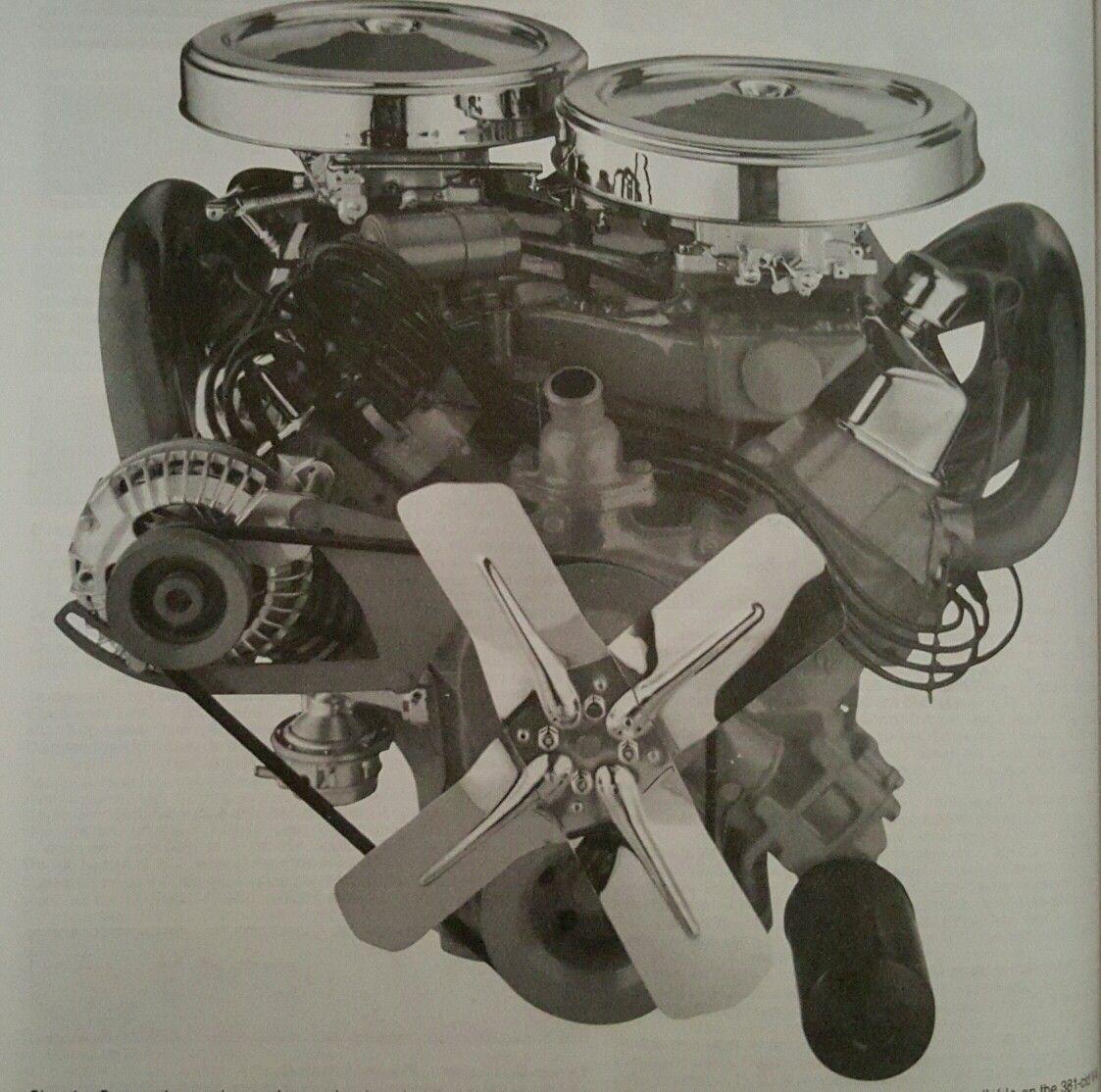 1960 Dodge Dart 383 CID D-500 V8 Engine | Engines and stuff | Mopar