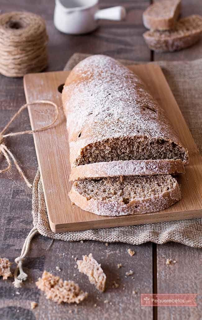 Pan de espelta, ¡una receta de pan casero que te