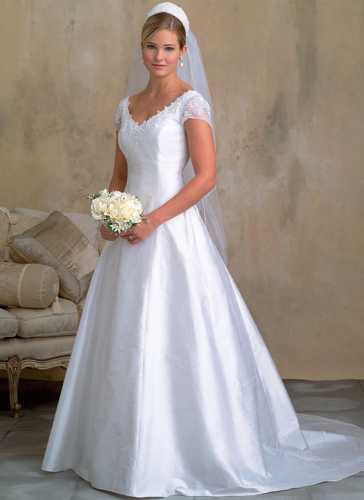77+ Wedding Dress Sewing Patterns - Best Wedding Dress for Pear ...