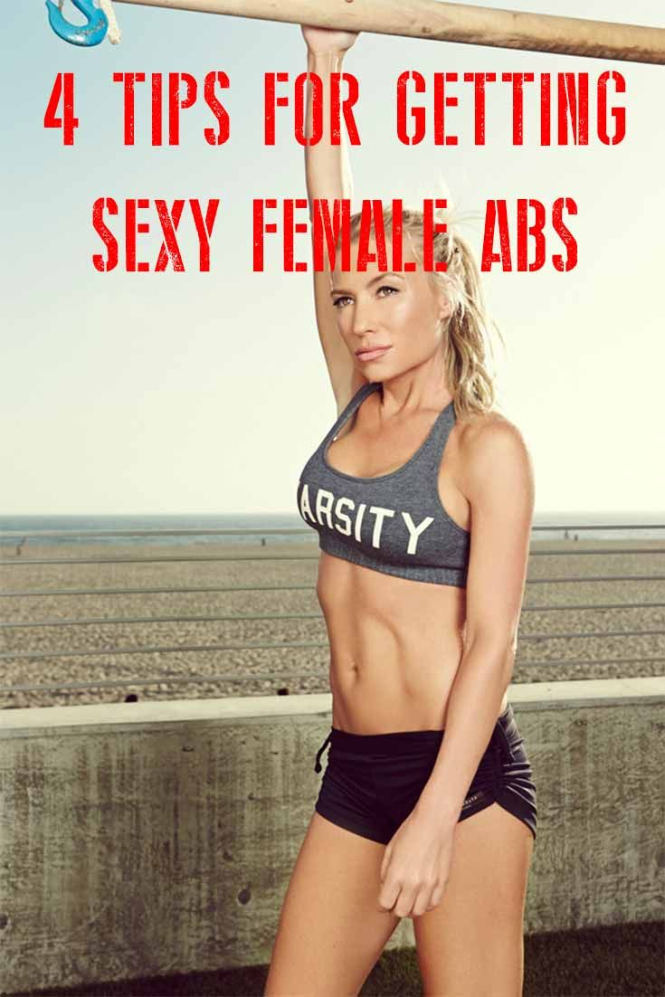 Article and Tips] 4 tips ting female abs Abs Workout