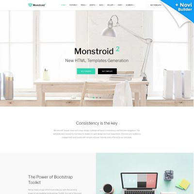 Monstroid2 Multipurpose Premium Website Template