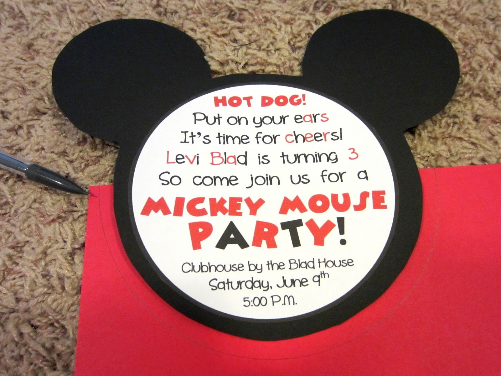 mickey mouse invitation templates mickey mouse invitations mickey mouse invitations template mickey mouse head template