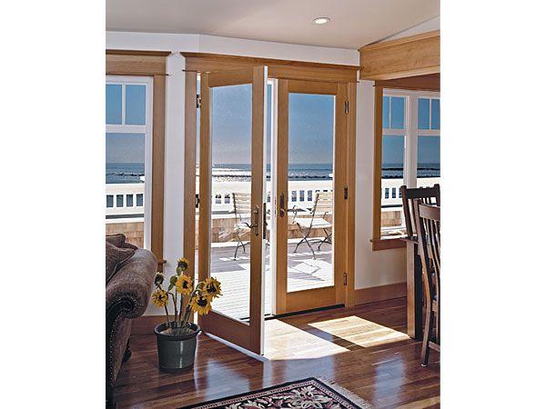 patio doors milgard doors and windows exterior french doorsmodern - Modern Exterior French Doors