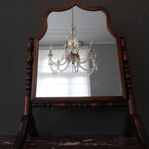 fabulous antieke kapspiegel with kapspiegel met verlichting