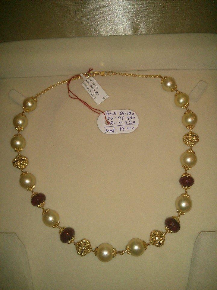 Pin by Sumana Upadhyaya on Aabharan Pinterest South sea pearls