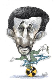 Mahmmud Ahmadineyad (Irán) - Pancho Cajas