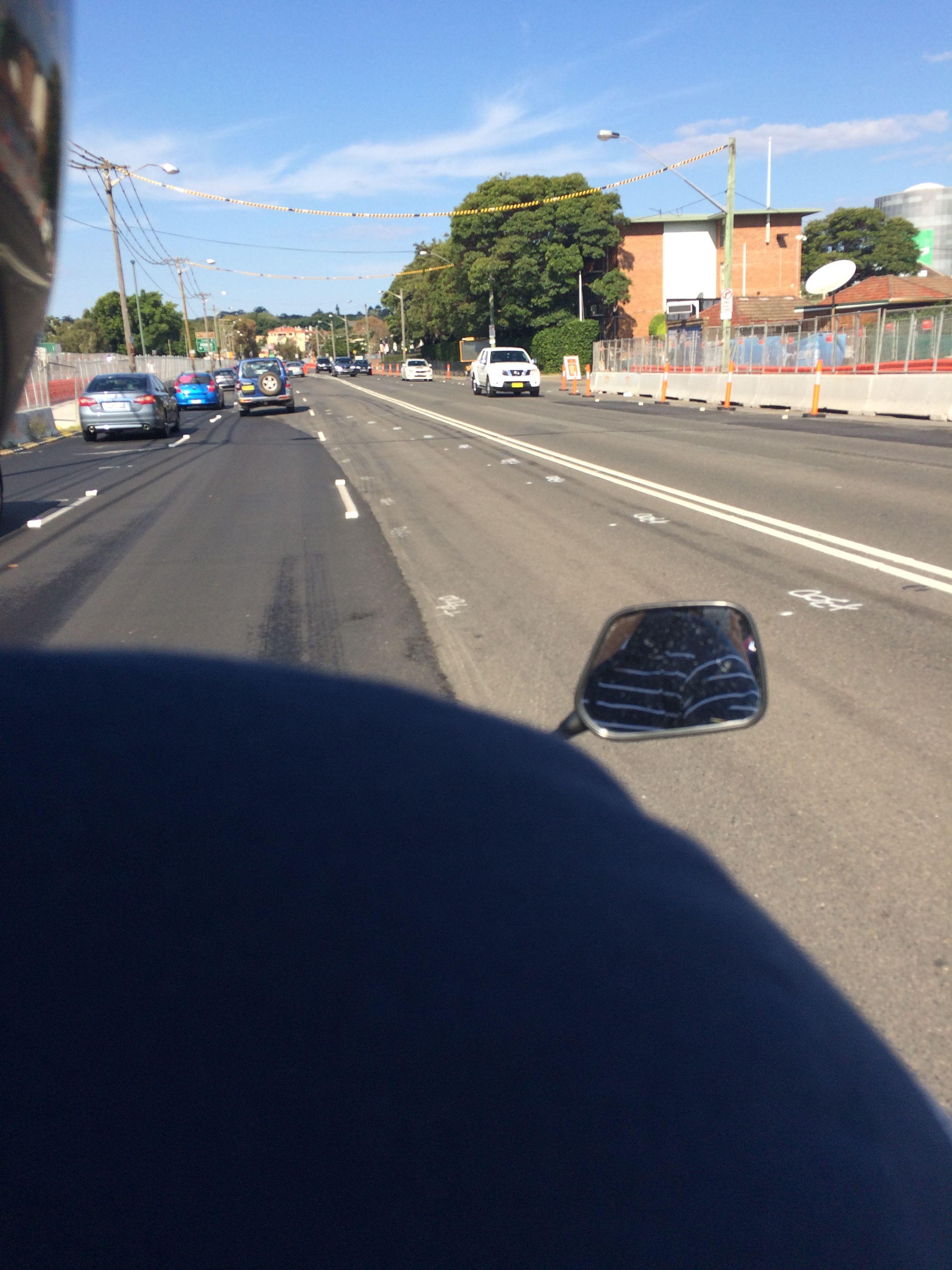 Motorbike Sydney - First Time