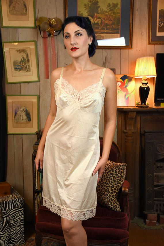 Pin on Vintage Lingerie and Slips for sale! at