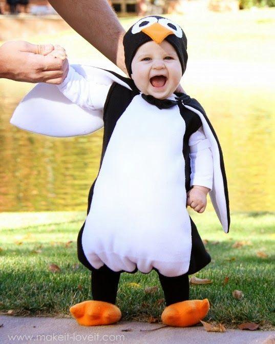 Disfraz De Pinguino Disfraces De Animales Disfraz Bebe Casero Disfraces Originales Para Niños