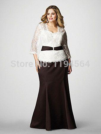 resultado de imagen para vestidos para la mama de la novia talla