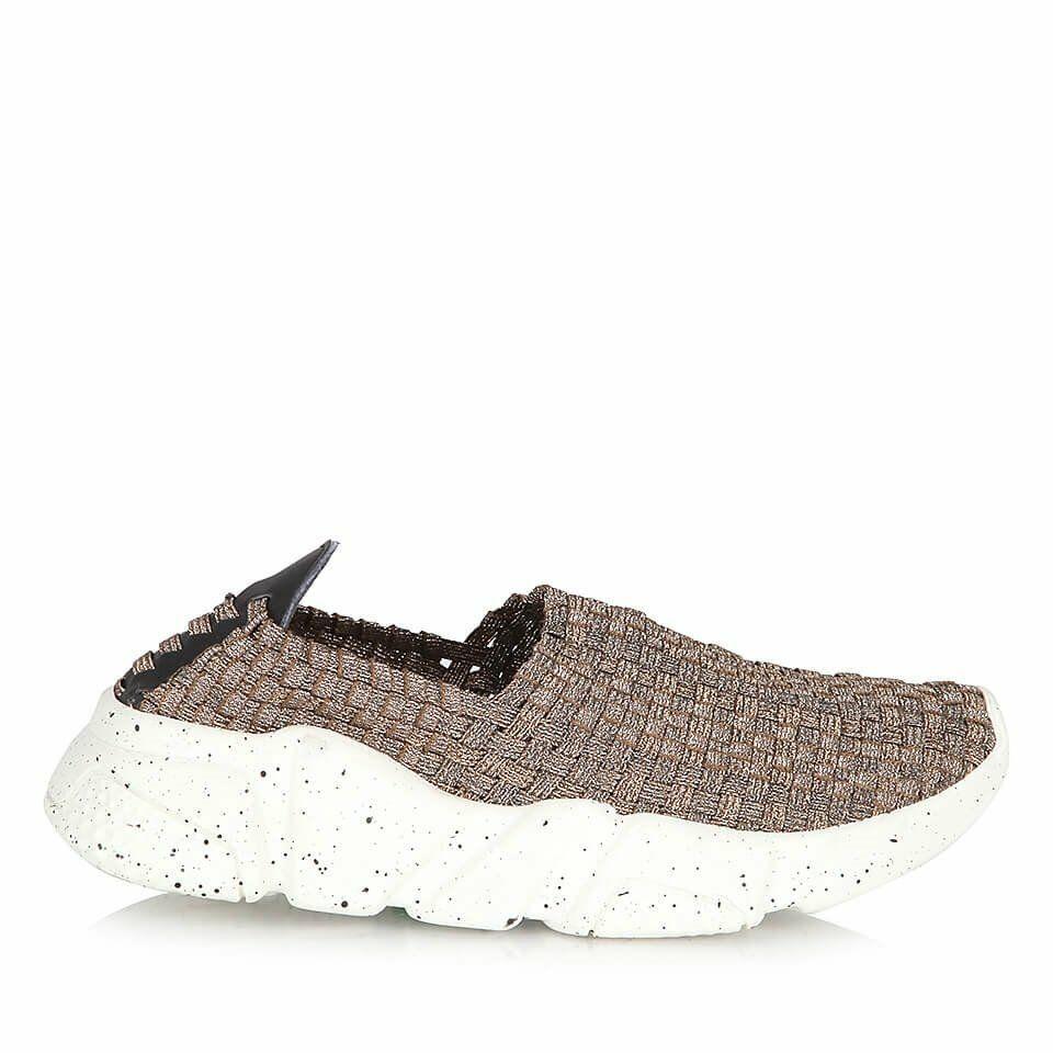 Tekstil Bronz Kadin Spor Ayakkabi Kadin Ayakkabilar Sneaker
