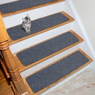 Best Lifesaver Scrape Rib Non Slip Pet Friendly Stair Treads 400 x 300