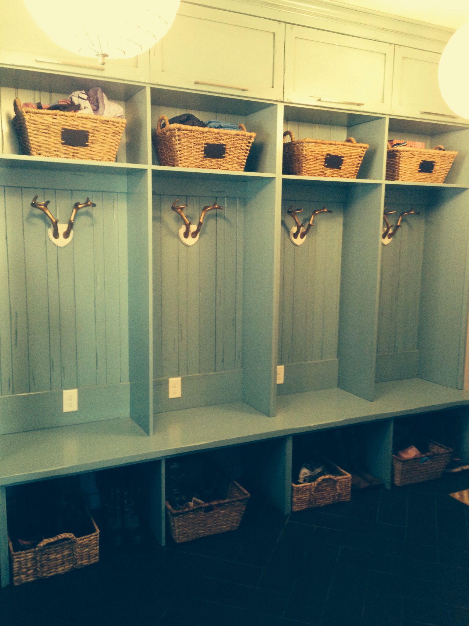 Target Threshold Baskets For Mudroom Lockers