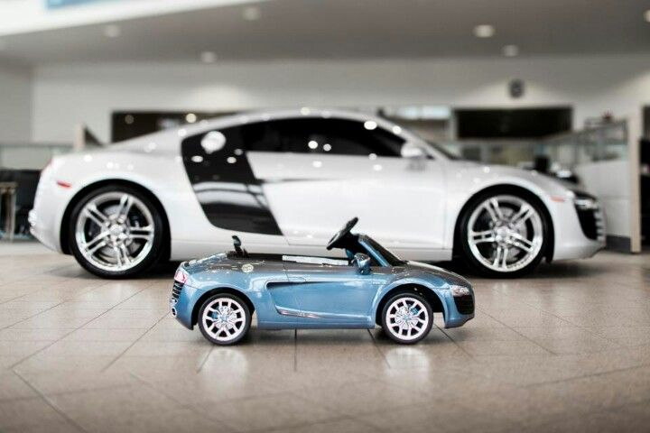 More afortable Audi mini R8