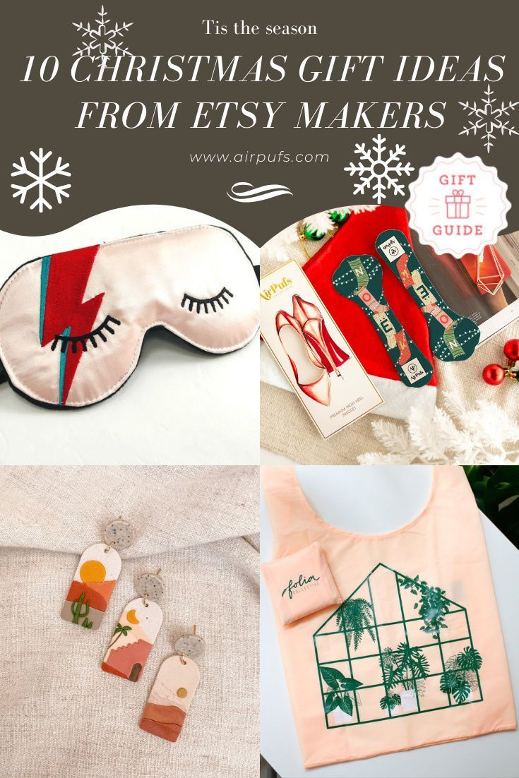 Tis the season for holiday shopping! Fill your stockings with thoughtful, unique gifts that will be loved and used all year with unique ideas from our gift guide. Curated from small businesses and makers #Etsymakers #christmasgiftideas #stockingstuffersforwomen #stockingstuffersforwife #stockingstufferideas #uniquestockingstuffers