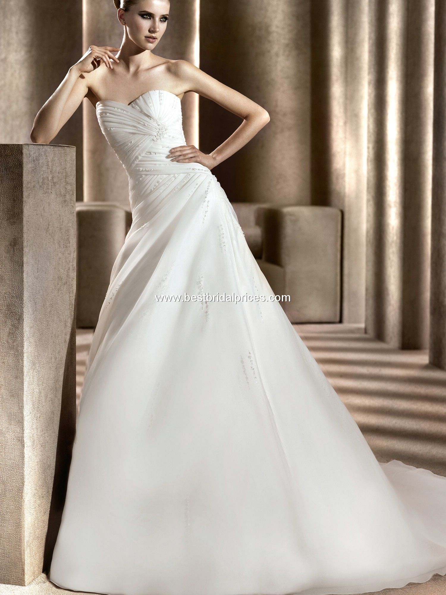 Pronovias Wedding Dresses - Style Bristol | Wedding dresses ...