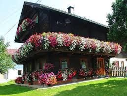 Image result for cream house with balconies