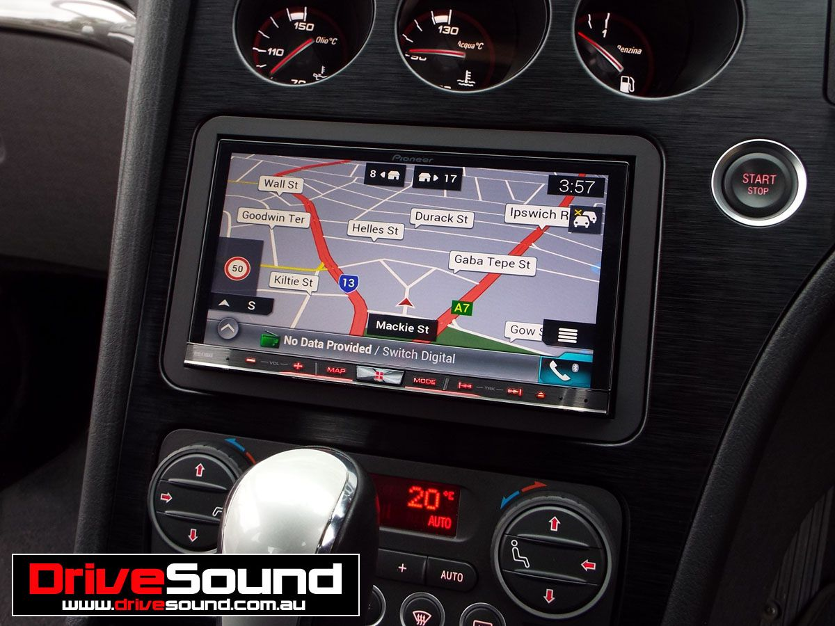 alfa romeo 159 with pioneer avic f70dab in dash multimedia system installed by drivesound in. Black Bedroom Furniture Sets. Home Design Ideas