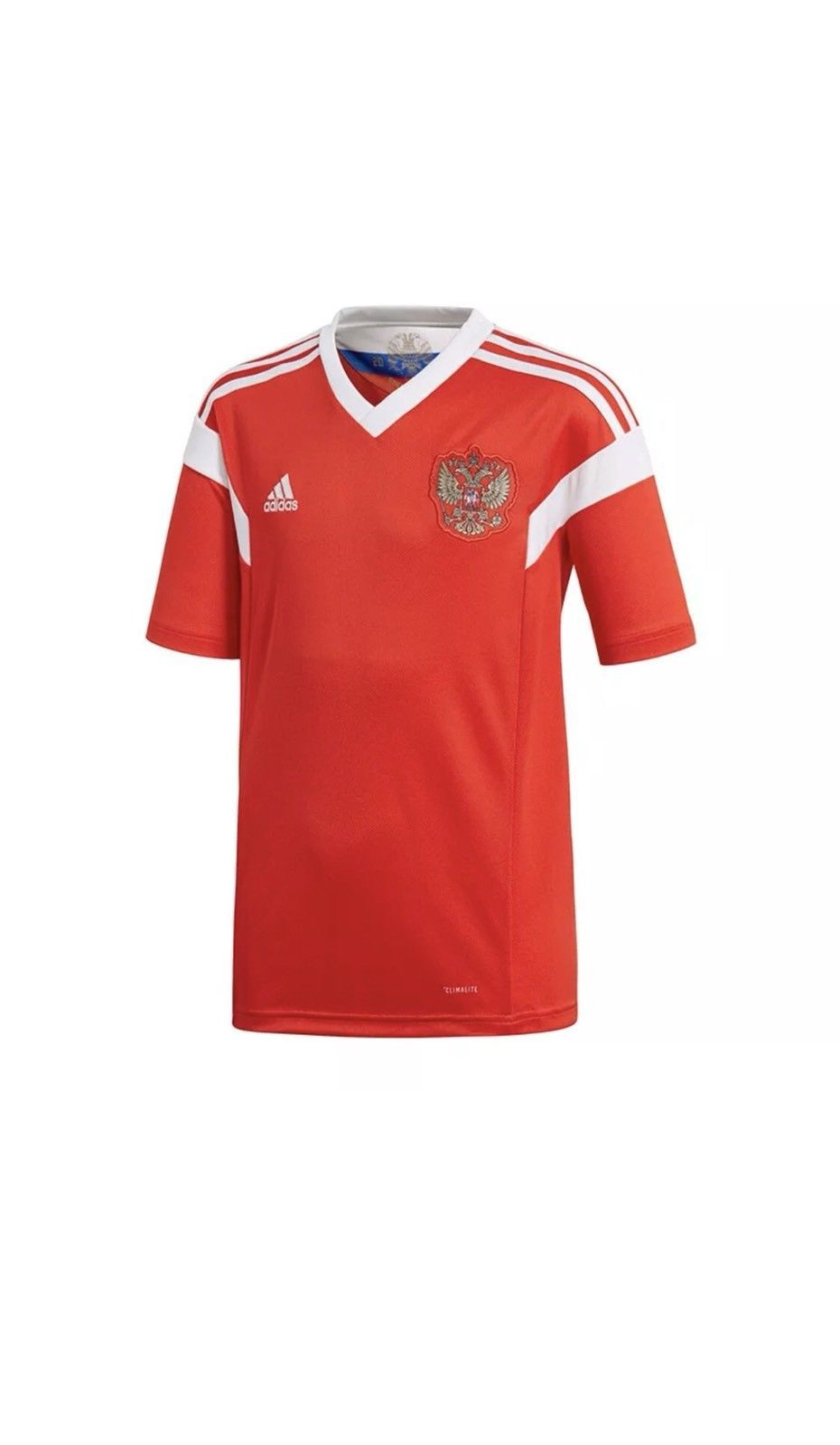 a0b1111e074 Adidas Russia Jersey FIFA WORLD CUP 2018 Unisex Red White Football Soccer  Top XS Discount Price 69.99 Free Shipping Buy it Now