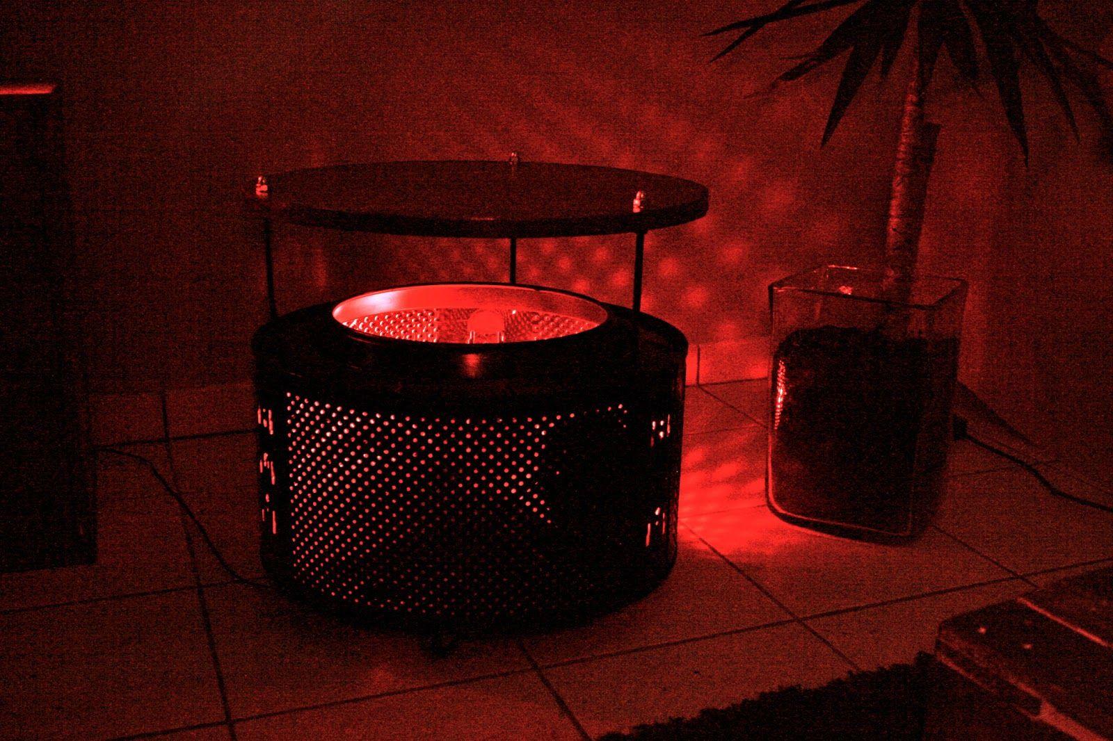 Tambour de machine a laver recycler atelier d 39 orel table tambour de machine laver man - Meuble tambour machine a laver ...